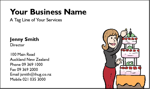 Business Card Design 219 for the Academic Industry.