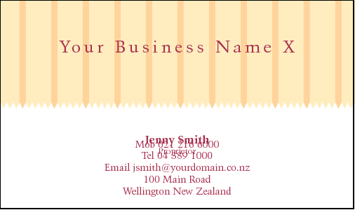 Business Card Design 799 for the Academic Industry.