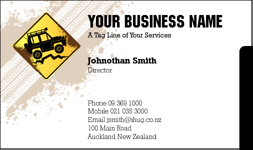 Business Card Design 4435