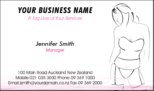 Business Card Design 2163
