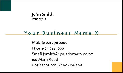 Business Card Design 340 for the Tiling Industry.