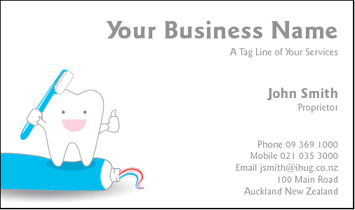 Business Card Design 3753