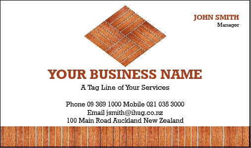 Business Card Design 3861